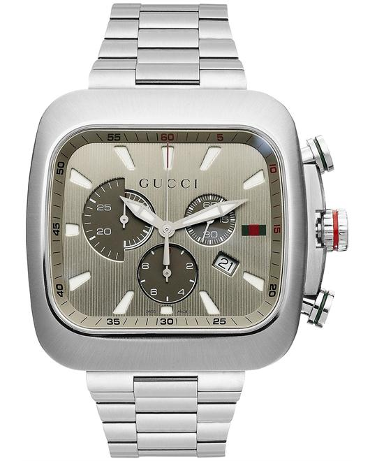 Gucci Chronograph  Stainless Steel Men's Watch 44mm
