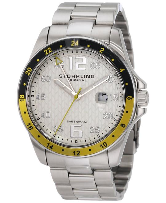 Stuhrling Original 33212 Men's Aquadiver Swiss 46mm