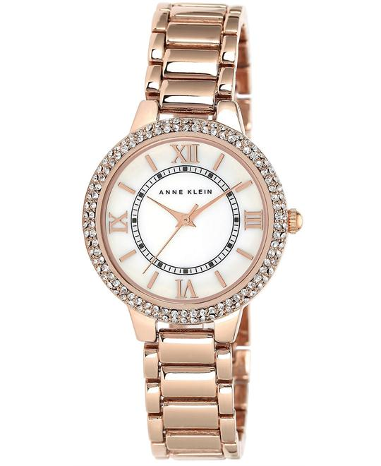 Anne Klein Women's Rose Gold Watch 33mm