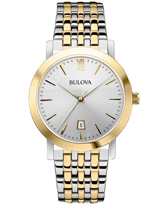 Bulova Unisex Steel Bracelet Watch 38mm