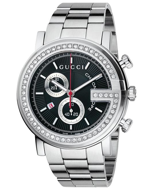 Gucci G-Chrono  Men's Diamond Bezel watch 44mm
