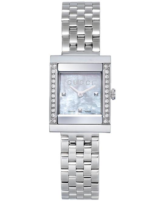 56857c64e1d Gucci YA128405 G-Frame Women s Stainless Steel Watch 19mm