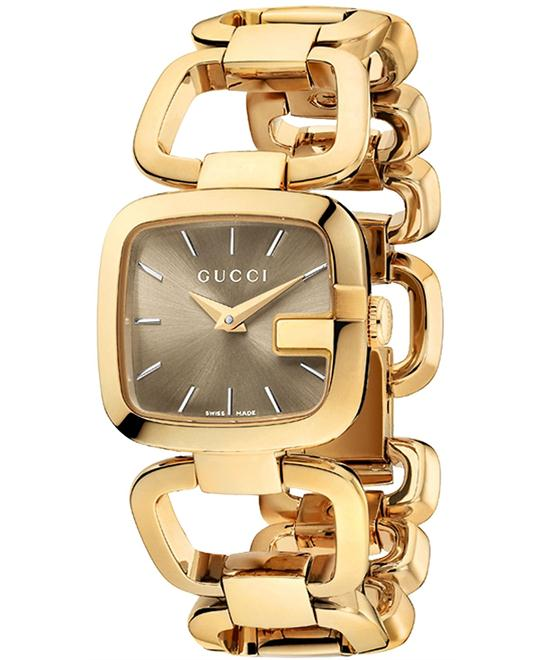 Gucci G-Gucci  Women's Stainless Watch 24x22mm