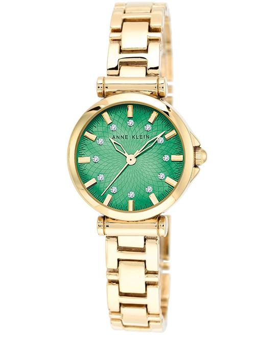Anne Klein Women's Gold-Tone Adjustable Watch 28mm