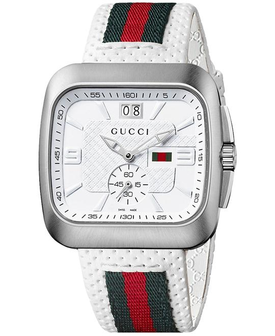 Gucci Coupe  Men's Green & Red Stripe Watch 40mm