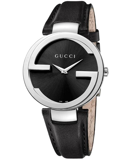 Gucci Interlocking  Stainless Steel Unisex Watch 37mm