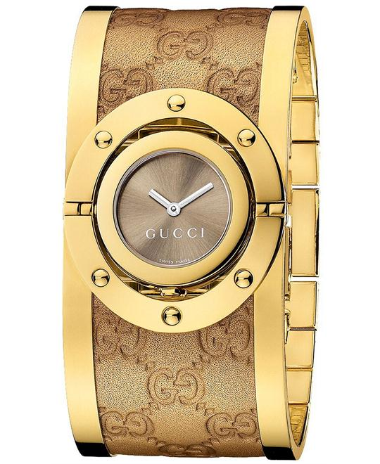 Gucci Twirl  Women's Stainless Watch 33mm