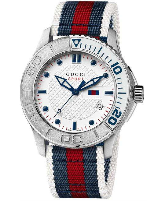 Gucci G-Timeless  Men's Sport Strap watch 44mm