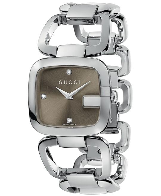 Gucci G-Gucci  Women's Stainless Steel 24x25mm