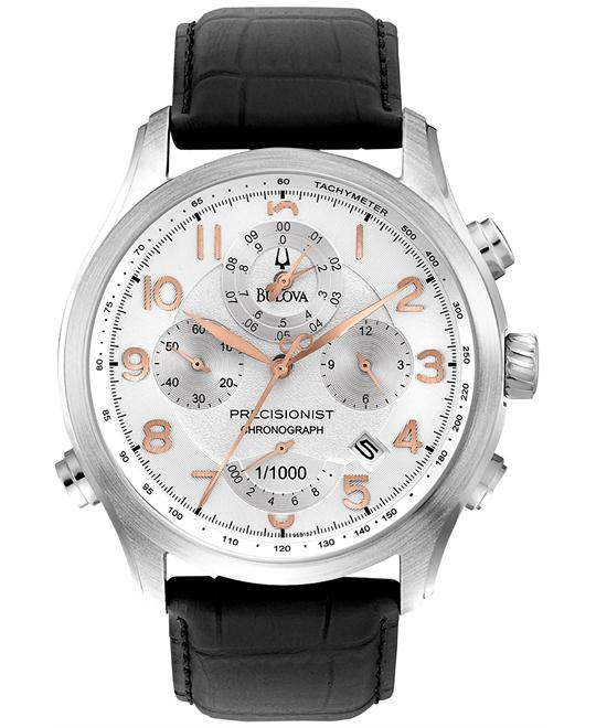 Bulova Precisionist Chronograph Men's Watch 46mm