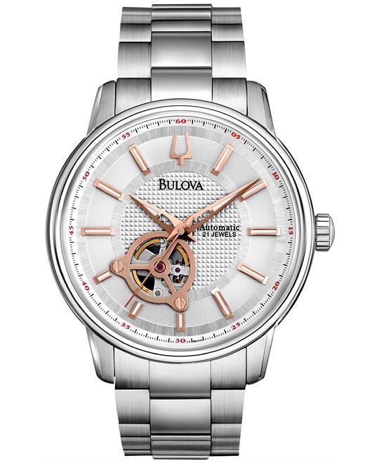 Bulova Men's Automatic Mechanical Watch 38mm