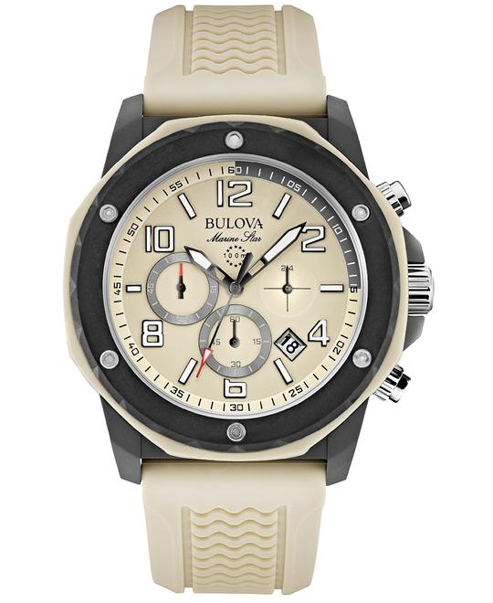 Bulova Marine Star Silicone Men's  Watch 44mm