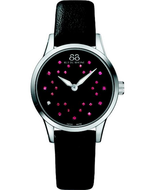 88 Rue Du Rhone Rive Black Swiss Watch 32mm