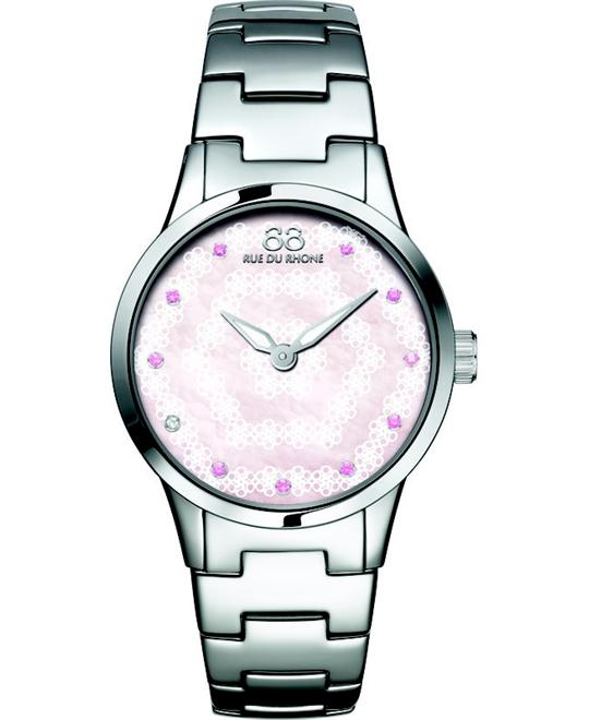 88 Rue du Rhone Rive Double 8 Women's Watch 32mm
