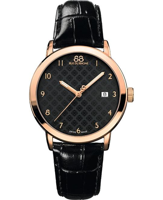 88 Rue du Rhone Swiss Quartz Watch 39mm