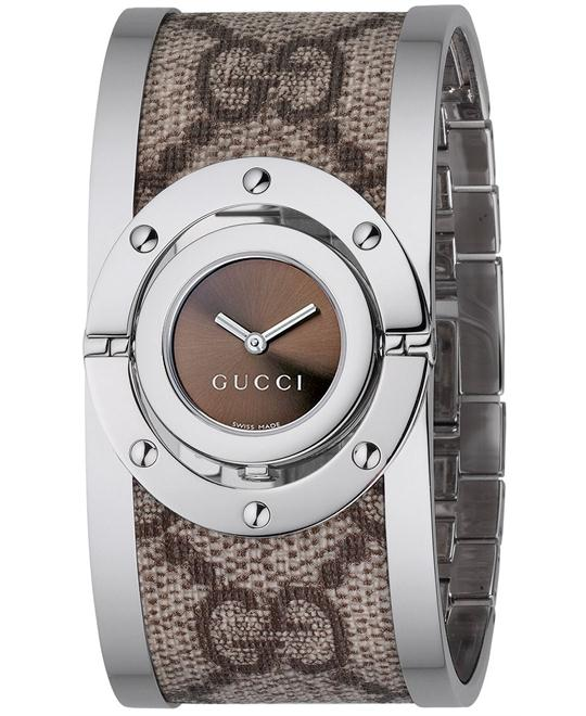 Gucci Twirl  Women's Swiss Stainless Steel watch 23mm
