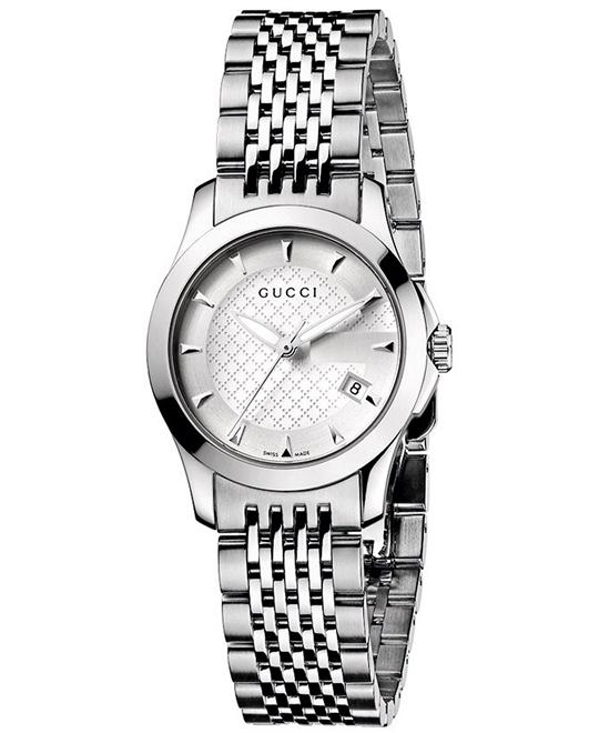 Gucci G Timeless Stainless Steel watch 27mm