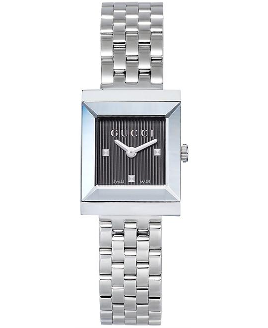 Gucci G-Frame  Women's Swiss Stainless Steel watch 19mm