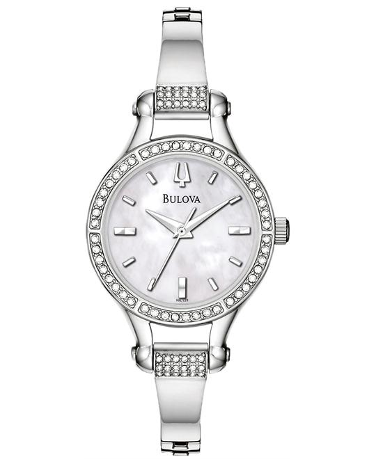 Bulova Crystal Accented Watch 27mm