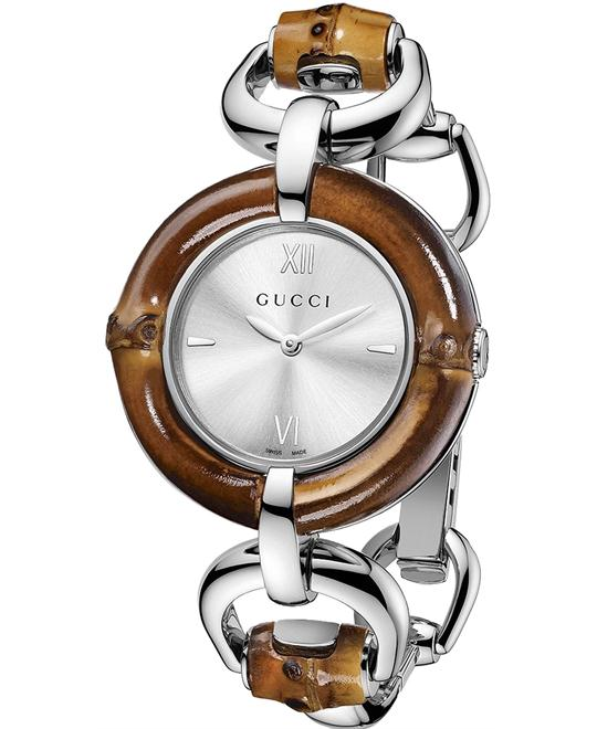 Gucci Bamboo  Women's Stainless Steel Watch 35mm