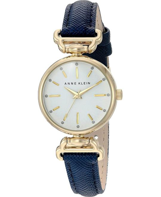 Anne Klein Metal and Polyurethane Dress Watch 28mm