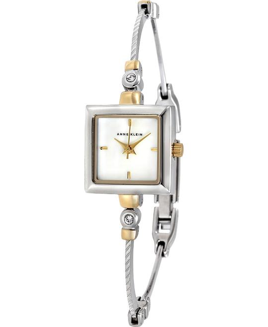 ANNE KLEIN Mother of Pearl Dial Ladies Watch 19mm