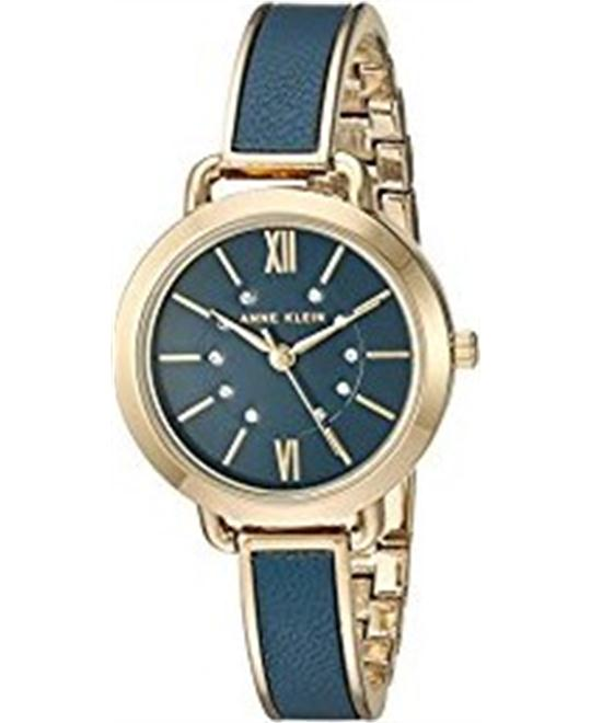 Anne Klein Metal and Alloy Dress Watch 30mm
