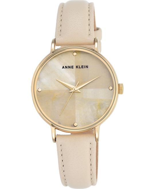 Anne Klein Women's Gold and Ivory Watch 36mm