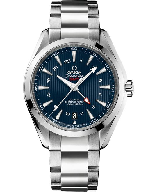 AQUA TERRA 150M 231.10.43.22.03.001 CO‑AXIAL GMT 43
