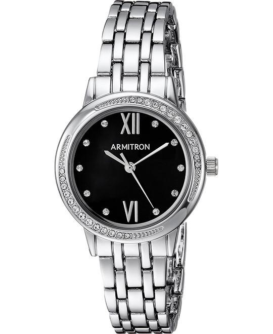 Armitron Crystal Accented Bracelet Watch 30mm