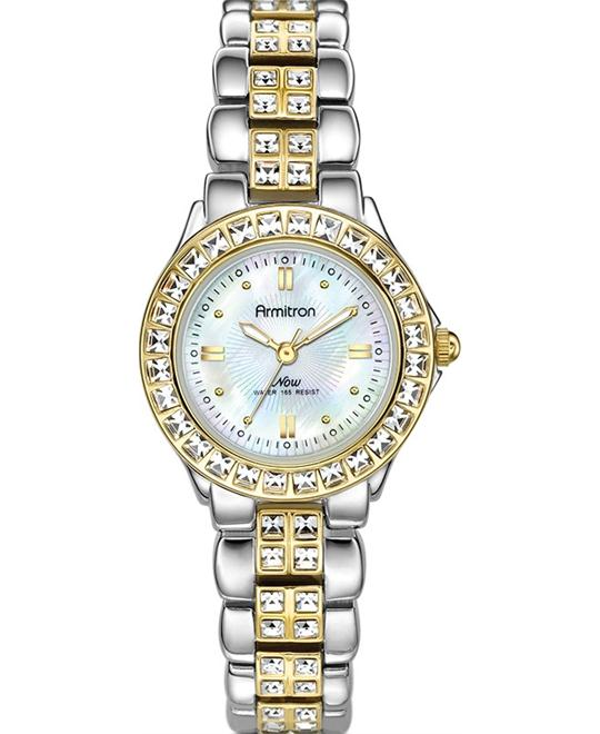 Armitron Women's Crystal Accented Two Watch 26mm