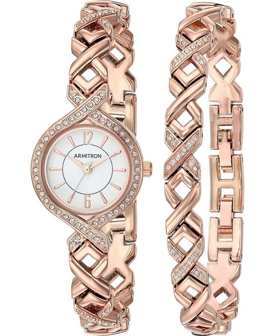 Armitron Women's Metal and Alloy Dress Watch 24MM