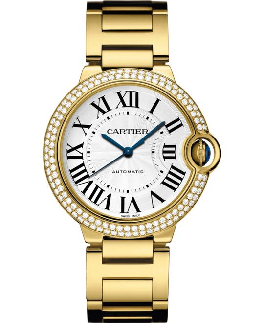 BALLON BLEU DE WJBB0007 18K YELLOW DIAMONDS SAPPHIRE 36