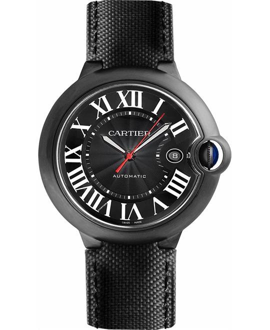 Cartier Ballon Bleu De Cartier WSBB0015 Carbon Watch 42mm