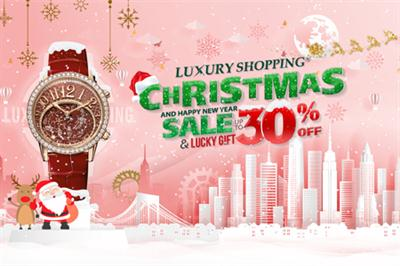 CHEERS TO THE CHRISTMAS AND NEW YEAR 2019 - SALE OFF UP TO 30% ALL WATCHES