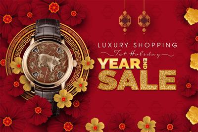 HAPPY LUNAR NEW YEAR 2019 - SALE END YEAR