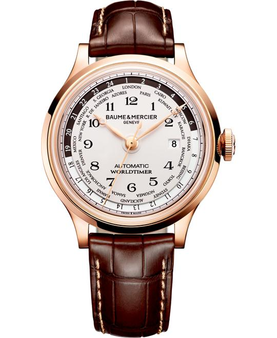 Baume & Mercier Capeland 10107 Worldtimer Watch 44