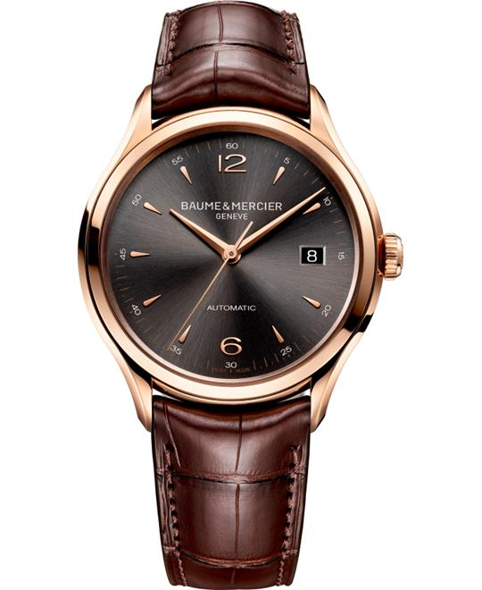 Baume & Mercier Clifton Rose Gold Watch 38.8mm