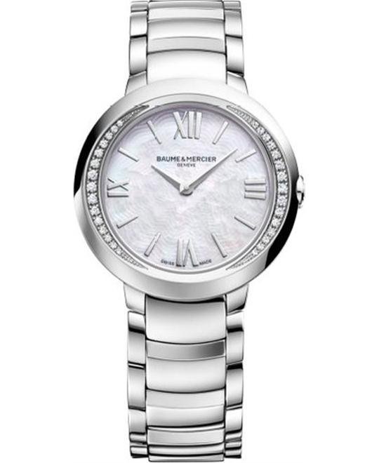Baume & Mercier Promesse Diamond Watch 30mm
