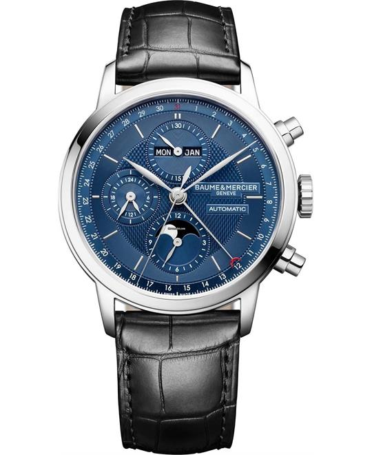 đồng hồ nam automatic Baume & Mericer Classima 10484 Moon Phase 42mm