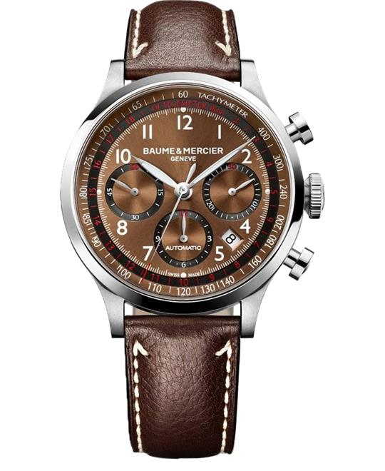 Baume & Mercier Capeland 10002 Chronograph Watch 42