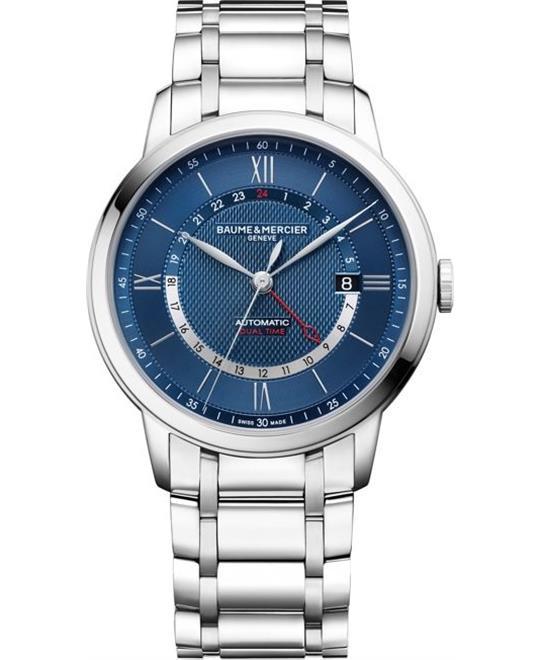 đồng hồ nam Baume et Mercier Classima 10483 Automatic Blue Watch 42mm