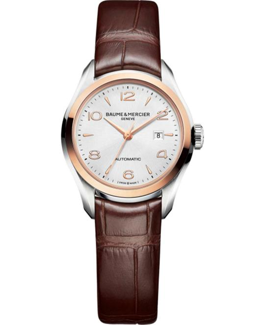 Baume & Mercier Clifton 10208 Automatic Watch 30