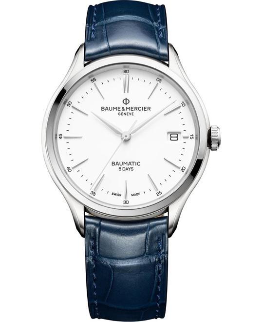 Baume & Mercier Clifton 10398 Automatic Watch 40