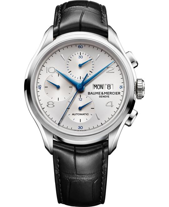 Baume et Mercier Clifton Chronograph Watch 43mm