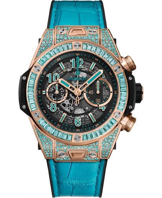 dong ho nam BIG BANG UNICO KING GOLD PARAIBA 45mm