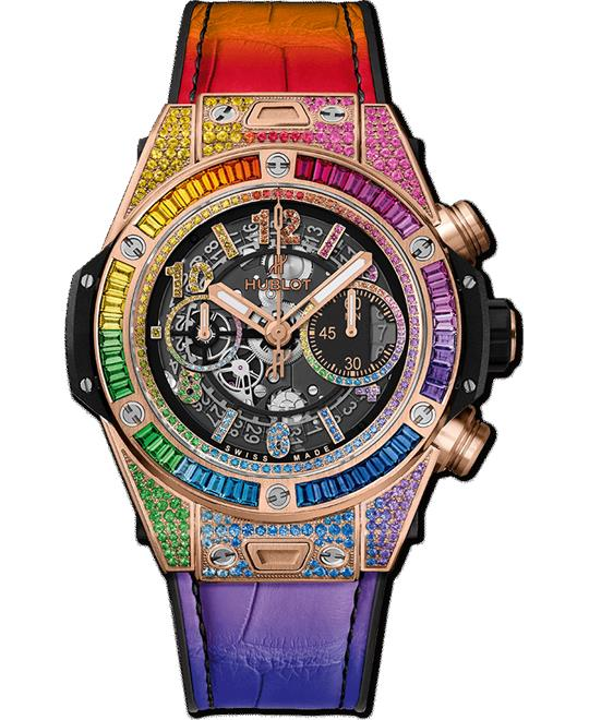 dong ho nam BIG BANG UNICO RAINBOW KING GOLD 45mm