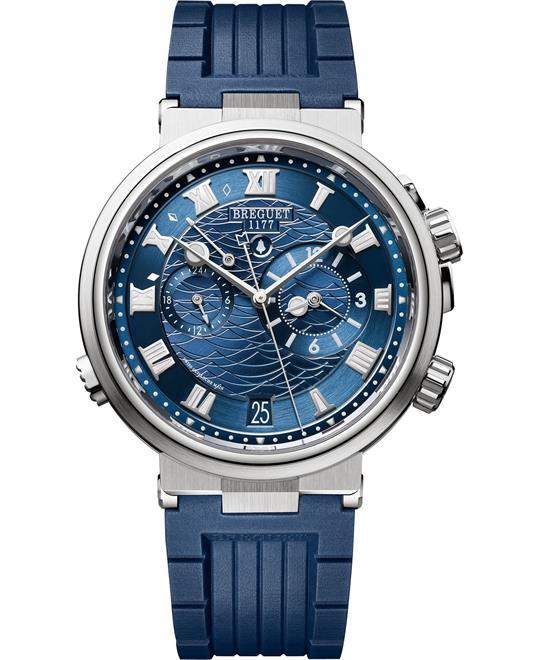đồng hồ báo thức Breguet Marine Alarme 5547bb/y2/5zu Musicale 40mm