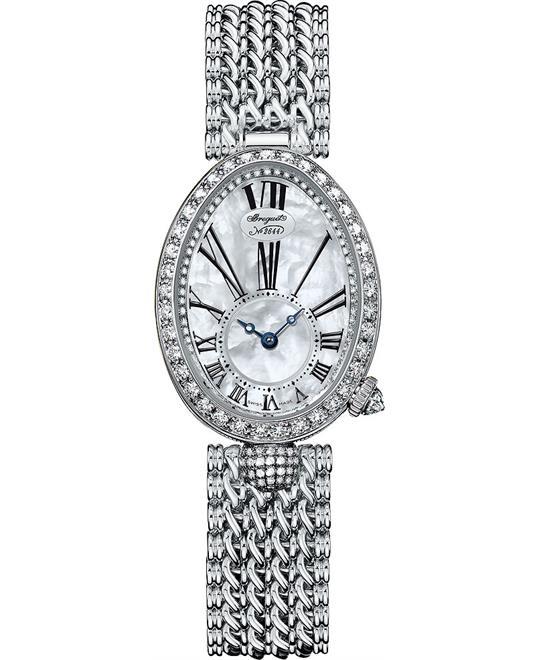 đồng hồ nữ oval sang trọng Breguet Reine De Naples 8928bb/51/j20.dd00 24.95x33mm