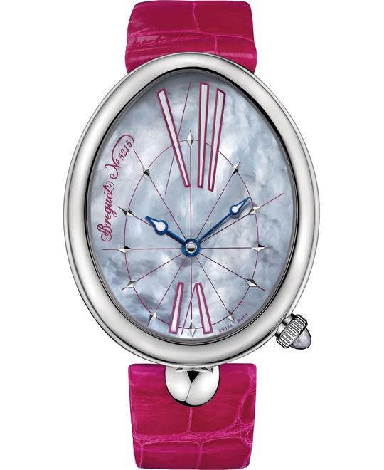 đồng hồ nữ oval Breguet Reine de Naples 8967st/g1/986 43.75 x 35.50 mm